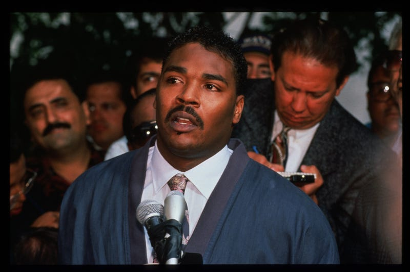 Rodney King in 1992 Getty Images