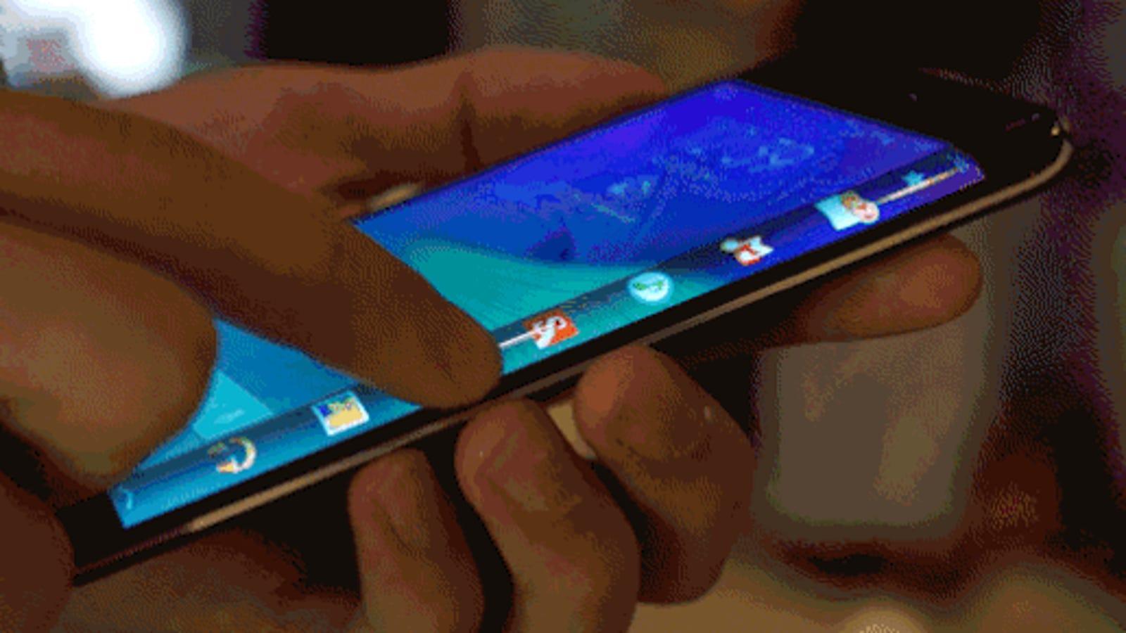 Galaxy Note Edge: de la pantalla sin bordes a la pantalla en el borde