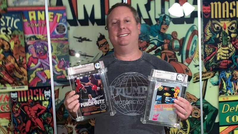 Deep-Pocketed Collectors Are Fueling A Retro Game Gold Rush