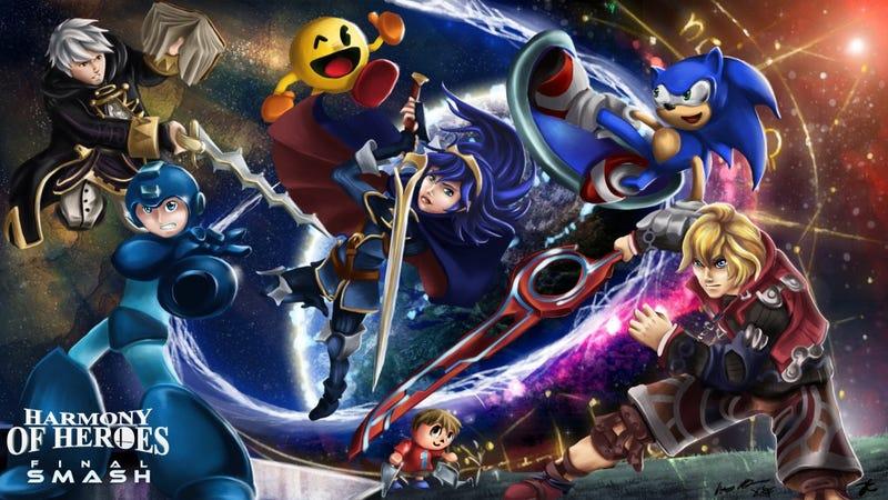 "Illustration for article titled Massive Smash Bros. Fan Album Adds 27 New ""Final Smash"" Tracks"
