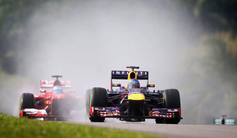 Illustration for article titled Sebastian Vettel Pulls A Sebastian Vettel In Malaysian Grand Prix Qualifying