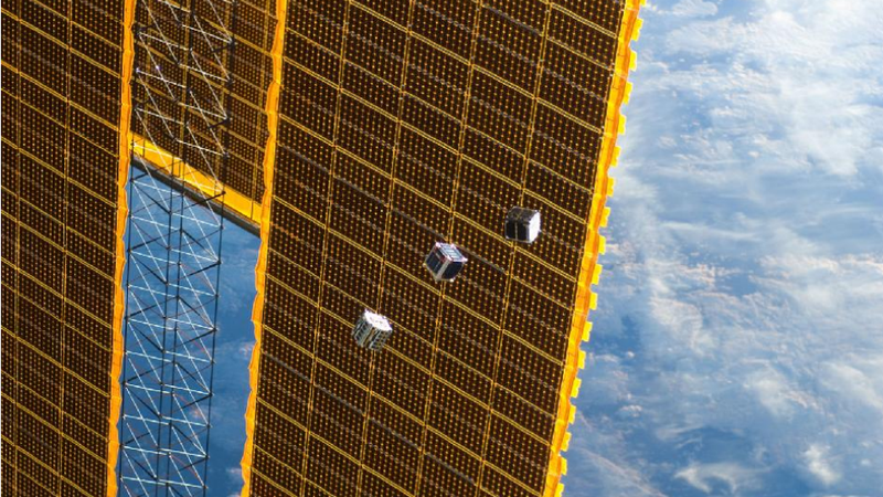 Illustration for article titled The World's Most Adorable Satellites Can Fit in the Palm of Your Hand
