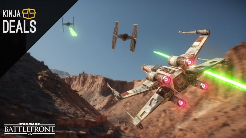 Illustration for article titled Star Wars Battlefront is Already Down to $40