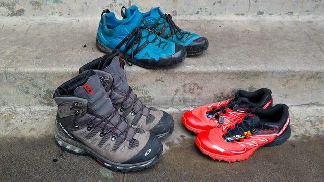 what s better for hiking boots vs trail runners vs