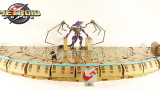 Now That's a Detailed LEGO <i>Metroid</i> Boss Battle