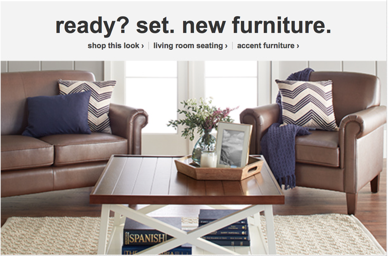 Extra 10% off select furniture and rugs with code HOME10