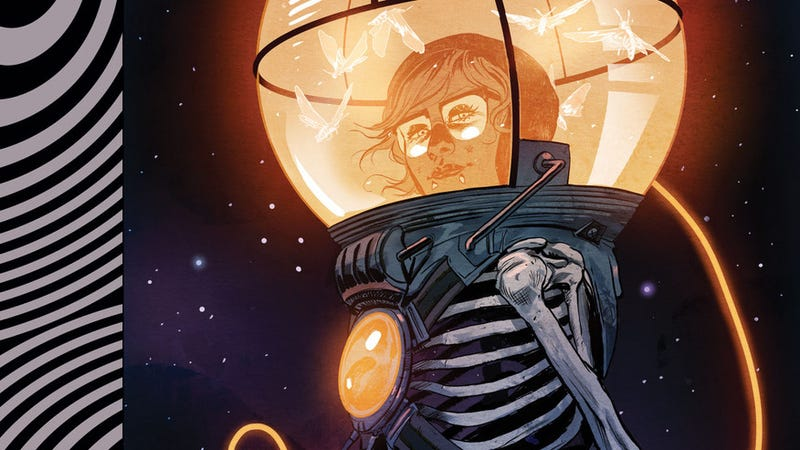 Illustration for article titled Black Crown explores the vast frontier of death in this Euthanauts first look