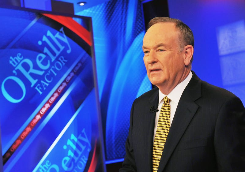 Bill O'Reilly, host of Fox's The O'Reilly Factor, on Dec. 15, 2011, in New York CitySlaven Vlasic/Getty Images