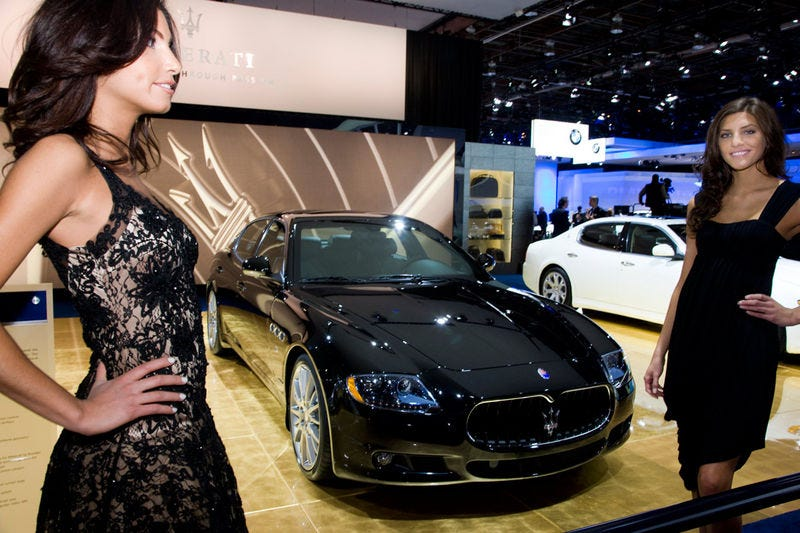 Illustration for article titled Top Ten 2009 Detroit Auto Show Galleries: Day One
