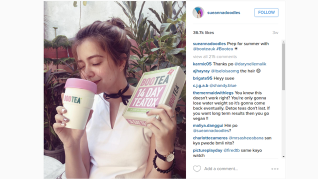 Instagrams Viral Weight Loss Teas are Just Laxatives