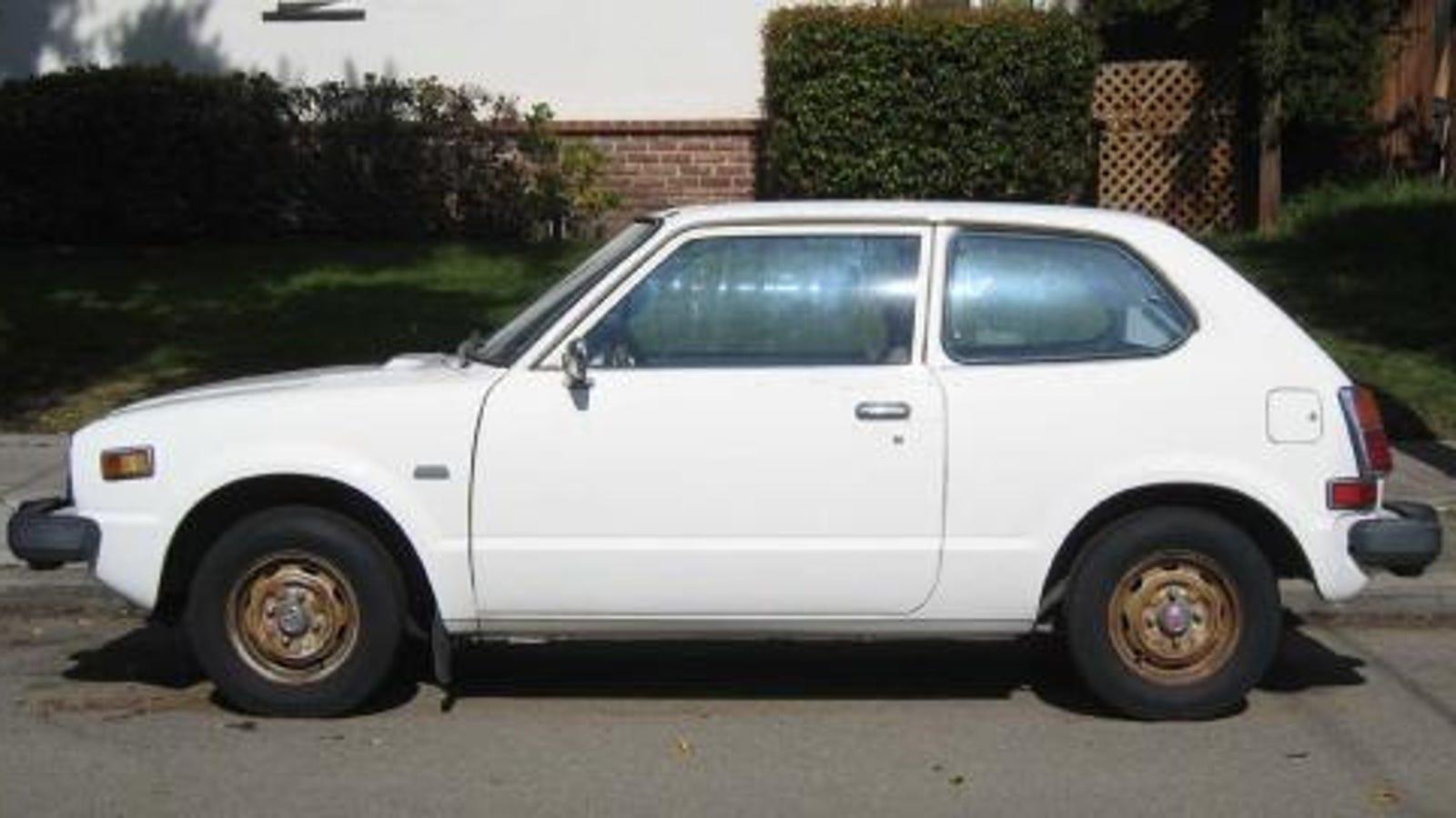 1979 Honda Civic 1970 Cvcc