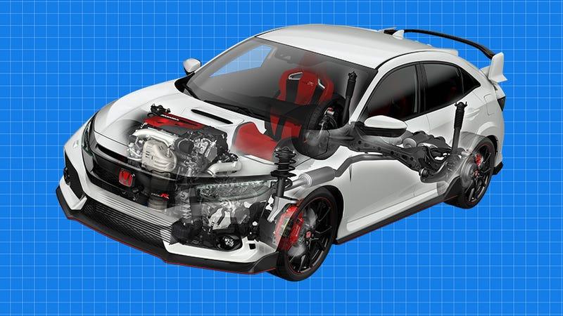 Focus Rs Vs Sti >> By The Numbers: 2017 Honda Civic Type R Vs Focus RS, WRX STI, Golf R