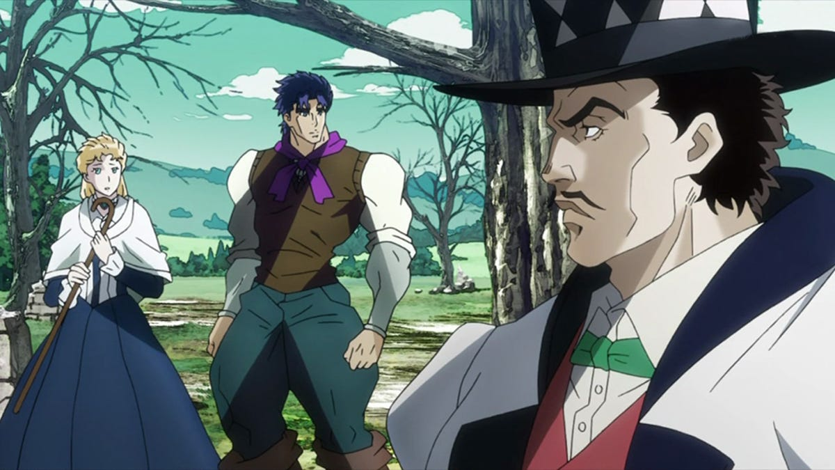 The First Arc Of JoJos Bizarre Adventure Is True To Its Roots For Better Or Worse