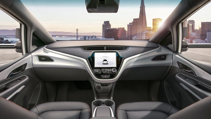 Illustration for article titled Here's The First Exclusive Image Of GM's Driverless Car Without A Steering Wheel (UPDATED)
