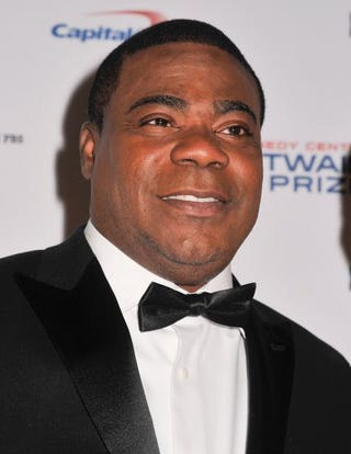 Comedian Tracy Morgan on the red carpet during the 18th Annual Mark Twain Prize for Humor honoring Eddie Murphy at the John F. Kennedy Center for Performing Arts on Oct. 18, 2015, in Washington, D.C.Kris Connor/Getty Images