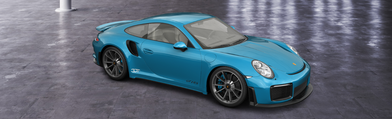 Illustration for article titled Thanks to 3DTuning, I was able to create the Porsche 911 Turbo RS.