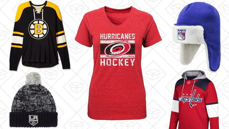 Amazon NHL Apparel Sale