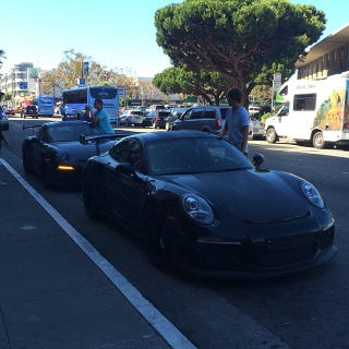 Illustration for article titled 991 GT3 RS' spotted in San Francisco