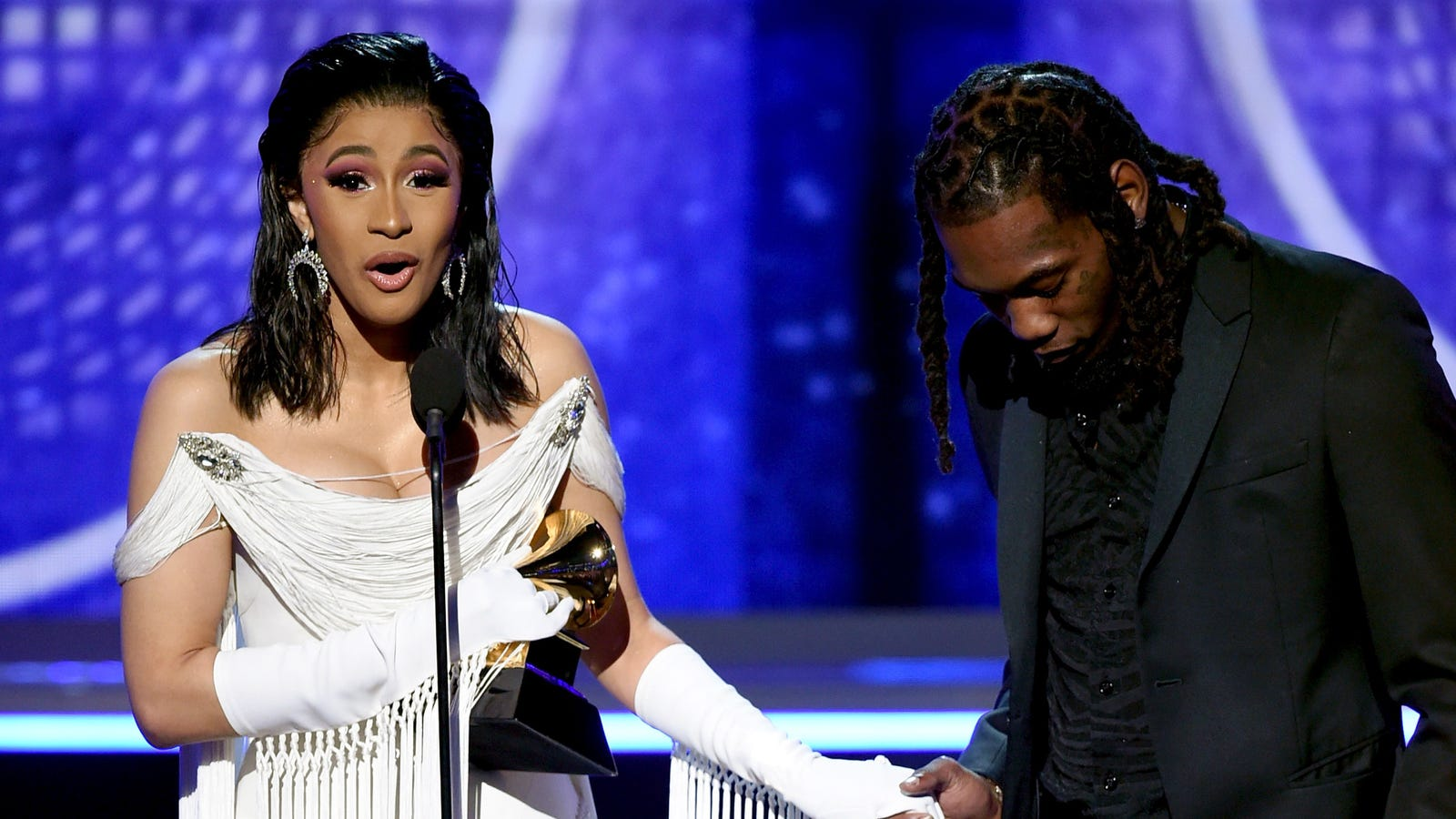 Cardi B Is the First Woman to Win the Grammy for Best Rap Album