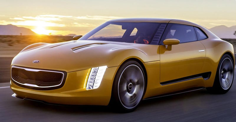 Illustration for article titled Kia GT4 Stinger Concept: The Kia Genesis Coupe 'Coming Now'