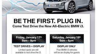 'Bout to drive a BMW i3