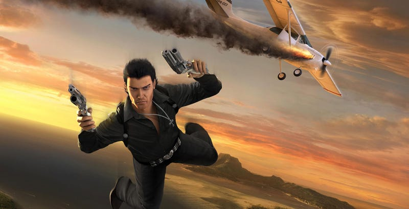 Illustration for article titled The Just Cause Movie Wants To Be Like Bond, James Bond