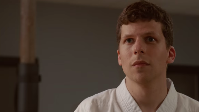 Jesse Eisenberg grapples with masculinity in The Art Of Self Defense's hilarious first trailer