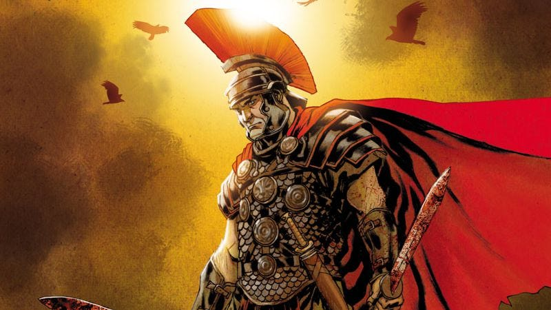 Illustration for article titled Valiant exclusive: Britannia introduces Ancient Rome's first detective