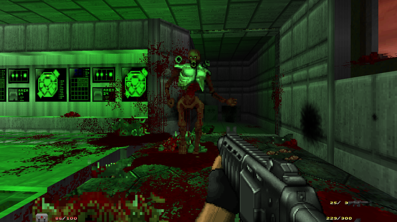 Modders Are Recreating The New Doom In Old Doom Games