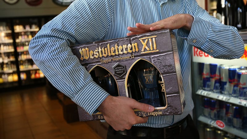 Westvleteren XII was briefly sold in the U.S. at retail in 2012 to raise funds for a new roof for the abbey.