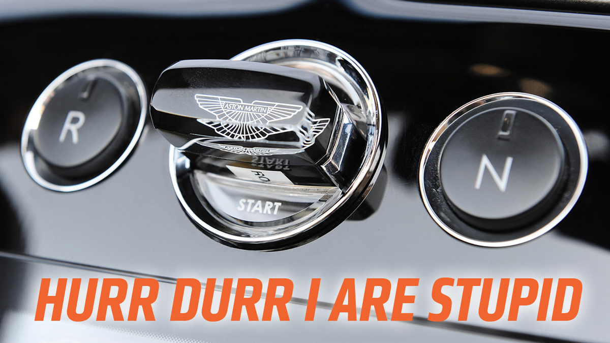 aston martin's sapphire crystal key was the stupidest thing ever and