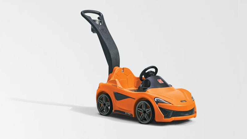 McLaren creates a 570S for kids