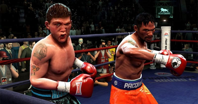 Illustration for article titled EA Sports Is Predicting Boxing Matches Now