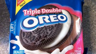 Illustration for article titled Triple Decker Oreo Signals Man's Progress Toward Superhuman Destiny