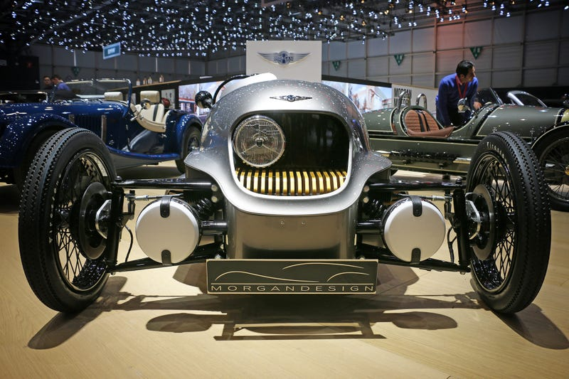 Morgans electric 3 wheeler is full of surprises publicscrutiny Images