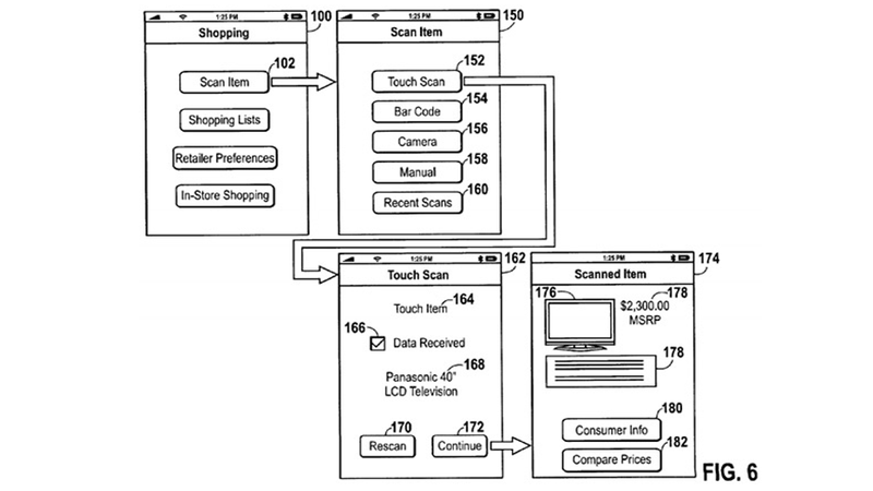 Illustration for article titled Apple's Latest Passbook Patent Is for Shopping