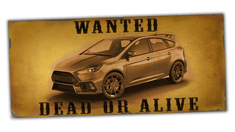 Illustration for article titled No One Knows What Happened To This Dude's Ford Focus RS