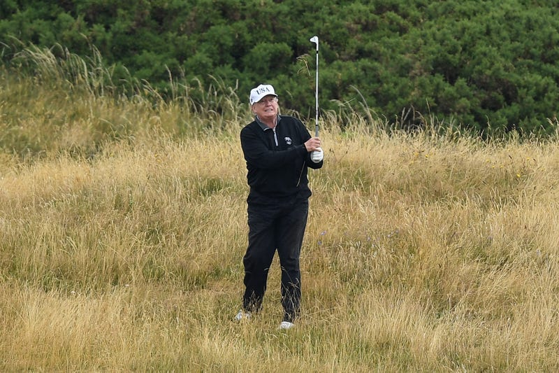 Illustration for article titled Trump's 'Executive Time' Just Got Serious as the President Has Purchased a $50,000 Golf Simulator: Report