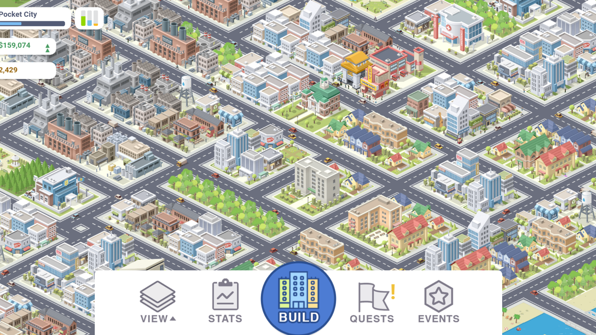 "Generateur "" Pocket City"" mod"