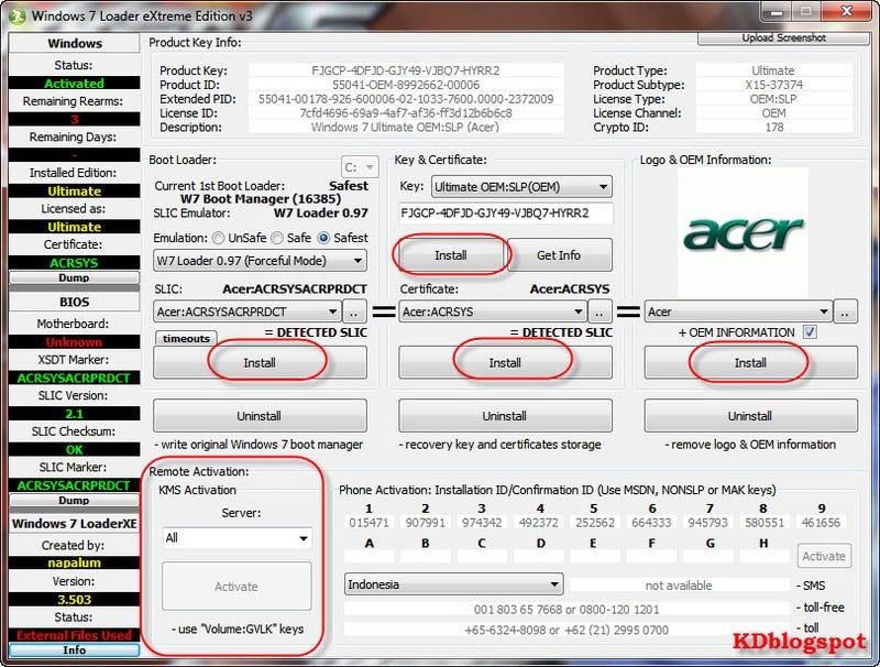 window 7 loader software download