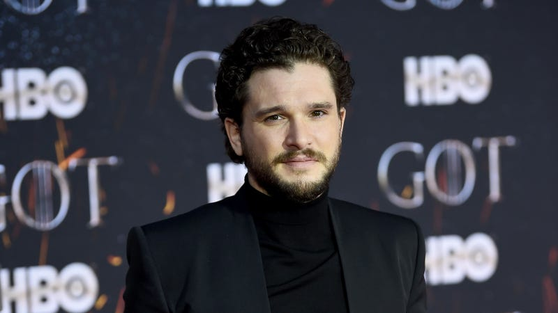 Illustration for article titled Kit Harington Almost Lost One of His Balls While Riding a Fake Dragon