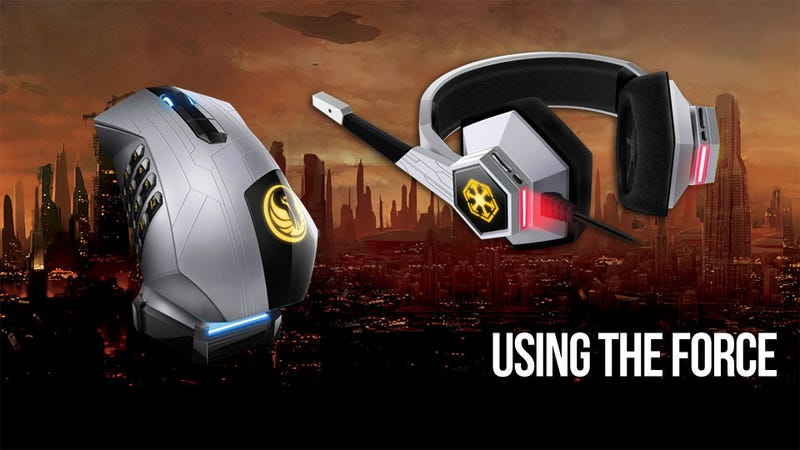 Illustration for article titled Is the Force Strong in Razer's Star Wars: The Old Republic Gaming Gear?