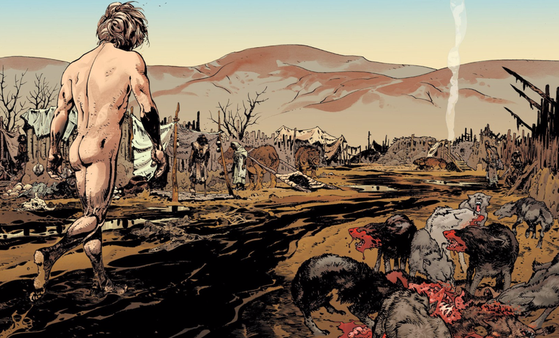 Illustration for article titled The Best New Comic of the Month Is a Bloody Bible Story