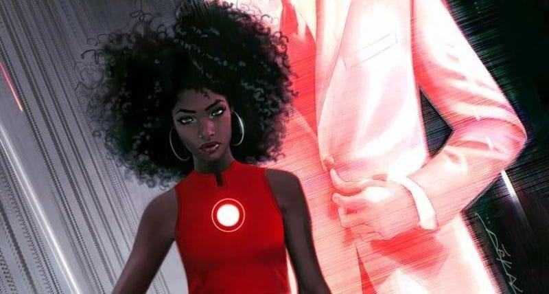Illustration for article titled Adiós Tony Stark: Iron Man ahora es una joven afroamericana de solo 15 años
