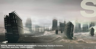 Illustration for article titled A Glimpse of the Strange Sci-Fi Houses of Earth's Alien Future