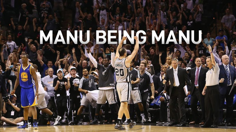 Illustration for article titled Manu Ginobili's Stumbling Heroics, In His Own Words