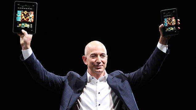 Jeff Bezos Had a Good Ass Day