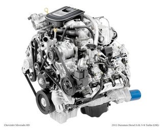 Illustration for article titled 4th Generation Duramax Diesel