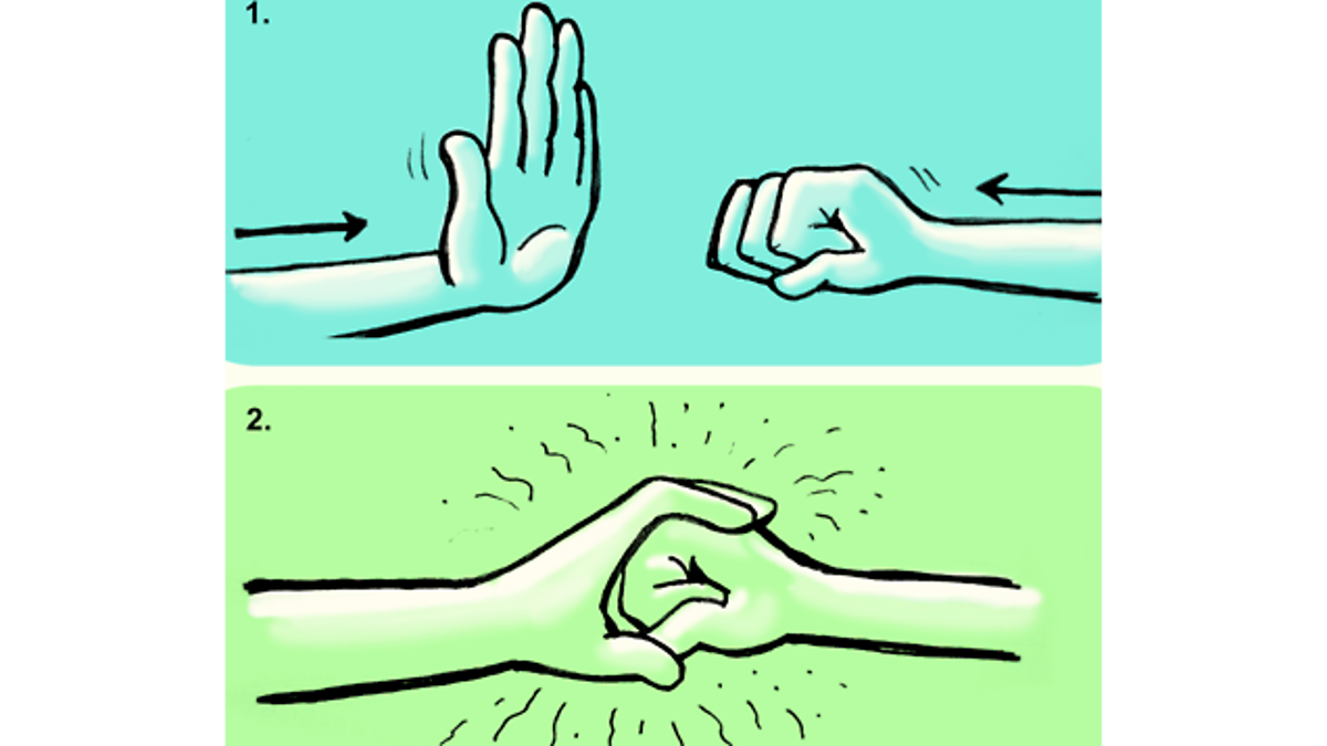 How To Almost Always Pick The Right Handshake