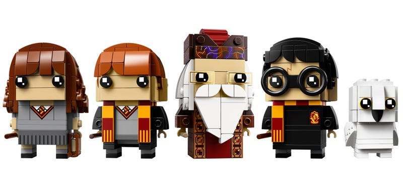 Illustration for article titled Lego's Harry Potter BrickHeadz Are Going to Avada Kedavra You With Cuteness